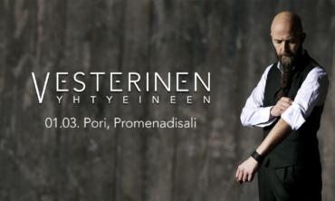 Vesterinen Yhtyeineen / Pori, Promenadisali