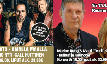 Tulevan viikonlopun konsertit järjestetään suunnitelmien mukaisesti.