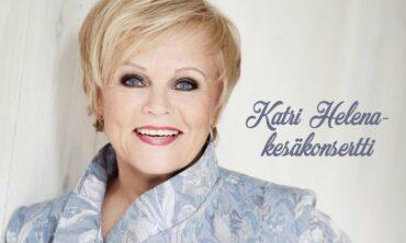 Katri Helenan konsertti siirtyy pidettäväksi lauantaina 6.6.