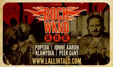 Huikea ROCK WKND Köyliön Lallintalolla 18.-19.10.🤘🤘